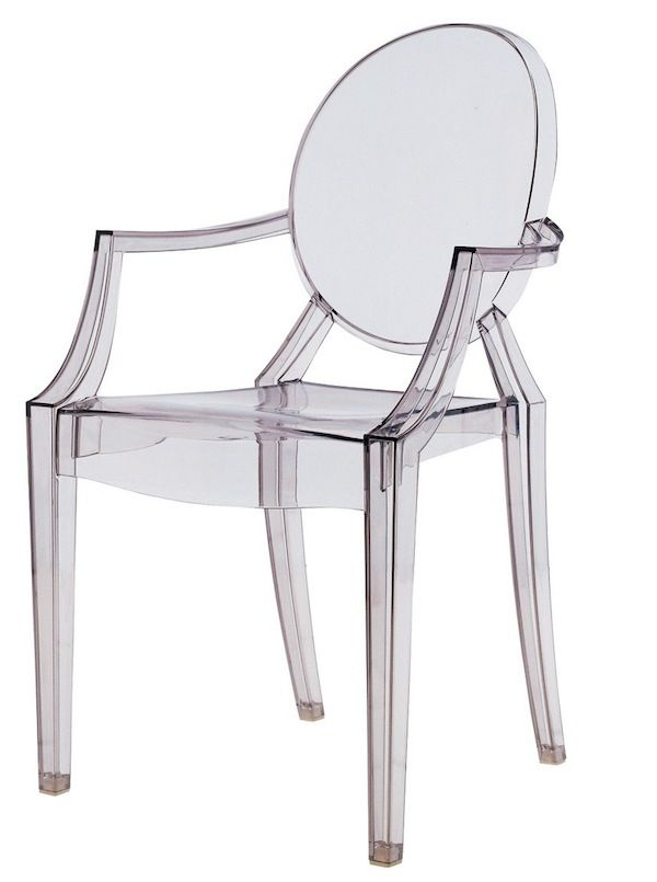 Chaise design Louis Ghost